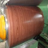 Heißer hölzerner Korn-Prepained galvanisierter Stahl des Verkaufs-CGCC im Ring