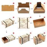 """""""Los viajes temáticos"""" Maleta Favor cajas + Tags, Vintage Kraft Favor box caramelo bolsa de regalo para el Viaje de Bodas Cumpleaños Fiestas Temáticas"""