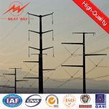 energía eléctrica poligonal 33kv Gr65 poste para la línea eléctrica
