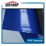 Azul oscuro de la lona de PVC de contenedores industriales