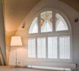2018 дизайна интерьера внутри внутреннего крепления шторки окна плантации