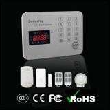 GSM van de Inbreker van het Huis van de veiligheid het Draadloze Systeem van het Alarm met het Toetsenbord van de Aanraking