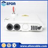 1*4 caixa terminal da mini fibra óptica do divisor FTTH do PLC do divisor 1*8 (FDB-08B)