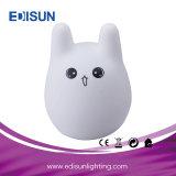 LEDの子供部屋の装飾またはギフトのためのかわいい漫画犬ビールウサギ夜ライトLuminaris