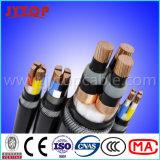 câble blindé 3X95mm de fil d'acier du câble 11kv