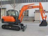 重い装置の建設用機器の使用料6.5トンの掘削機