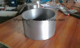 Tubi lavorati del tungsteno di alta qualità, fornitore del crogiolo del tungsteno da Luoyang