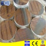 1050 1060 1007 1100 3003 Círculo de aluminio laminadas en caliente para utensilios de cocina