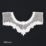 かぎ針編みのネックレス、レースNeckpieceの白いかぎ針編みカラー、型様式カラー、レトロカラー、白いニットカラー