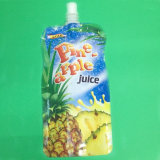 プラスチックジュースの包装袋のための口の袋を立てなさい
