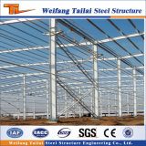 Structure en acier et en acier de construction de l'entrepôt des poutres en acier