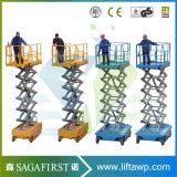 6m tot 18m het Vrachtwagen Opgezette Platform van de Lift van de Mens van de Schaar