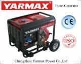 Yarmax 4.5kVA 5.5kVA раскрывает тип портативный тепловозный генератор Ym3500e