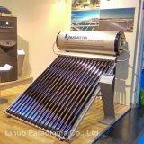 tubo de calor aquecedor solar de água de circulação indirecta dividido
