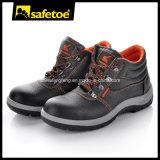 Los zapatos de seguridad calientes del corte del centro de la venta, seguridad en el trabajo calzan M-8138