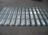Placa de chapa de acero galvanizado corrugado