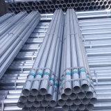 Coluna de cerca de tubos de aço galvanizado para o Green House Material de Construção
