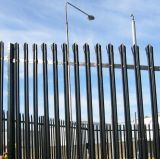 PVCによって塗られる溶接された金網の柵の庭の塀