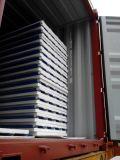 Верхняя продавая изолированная металлом панель сандвича EPS цвета панели сандвича стальная для Prefab дома