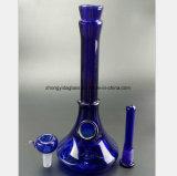 De blauwe Waterpijp van het Glas van Filter de Waterpijp van 9.8 Duim