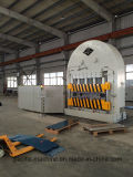 Hydarulic Presse für das Betätigen der Metallplatten