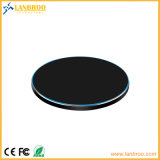 Металлические универсальной беспроводной связи для мобильных телефонов быстрое зарядное устройство блока 10W, 7,5, 5 Вт