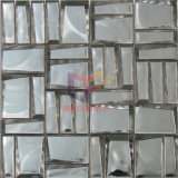 銀製カラーチタニウムのガラスモザイク・タイル(CSJ153)