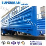 Tri dell'asse del carico del muro laterale della barra di traino rimorchio del carrello del rimorchio del camion semi