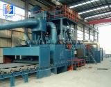 Qh69 het Vernietigen van het Schot van het Staal van de h- Sectie Machine/het Zandstralen van Machine