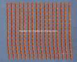 Temperatura alta de fibra de vidrio Alkali-Resistant malla de fibra de vidrio.