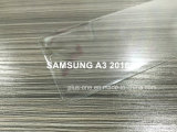 protector curvado 3D de la pantalla del vidrio Tempered de la cubierta completa del borde para Samsung A310 A3 2016