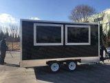 A Austrália padrão de 4 metros de cozinha móveis Trailer alimentar