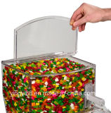 Contenitore acrilico di vendita superiore di caramella per la cerimonia nuziale (YYB-596)