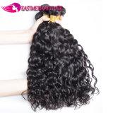 Пачки 100% волос девственницы волны воды человеческих волос перуанские