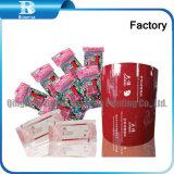 Envoltura de plástico Film para hacer bolsas de barrido húmedo