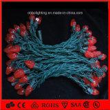 Напольный шнур рождества света СИД праздника света украшения свадебного банкета рождества освещает C9 света шнура рождества СИД
