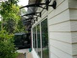 Pabellón del toldo del policarbonato/abrigo de la cortina para las puertas de Windows&