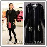 Prendas de vestir exteriores larga hecha punto de la capa de las lanas de diseñador de la ropa de las mujeres al por mayor de la manera