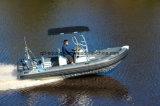 Boots-/Fiberglas-Rippen-Boot/Tauchen/Fischen/Rettung/Patrouille des Aquland 18feet 5.4m steifes aufblasbares Motor10persons (RIB535B)