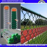 Belüftung-überzogener Kettenlink-Zaun