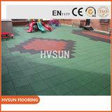 Stuoie esterne di gomma della pavimentazione dei campi da pallacanestro impermeabili del luogo pubblico