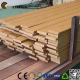 Decking composto instalado fácil do revestimento de madeira ao ar livre do Decking de WPC (TH-16)