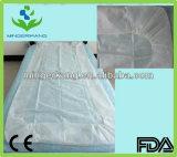 Cubierta de base no tejida de la esquina de los PP de la venda de elástico