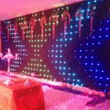 Iluminação de pano do diodo emissor de luz da cortina de P18 RGB Vison