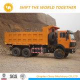 Autocarro con cassone ribaltabile di estrazione mineraria di Shacman 6X6 380HP Euro3 78t da vendere
