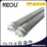Pie de 4 a 150 grados de ángulo del tubo LED T8 Saso