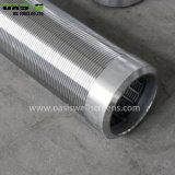 Heiß! China-Lieferant der Keil-Draht-Filtrationsschirm-Edelstahl-Wasser-Quellfilter