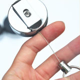 Förderndes Geschenk-Geschäft Plastik-Identifikation-Kartenhalter-Abzuglinie (BG-036)