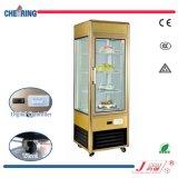 Le ce a reconnu un étalage frigorifié par refroidisseur droit de porte