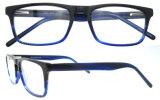 Het vrije Frame van het Oogglas van de Acetaat van het Frame van de Glazen van de Rechthoek van Eyewear van het Frame van de Steekproef Optische Blauwe